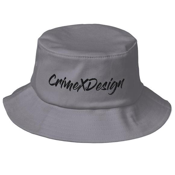 Crime X Design Bucket Hat